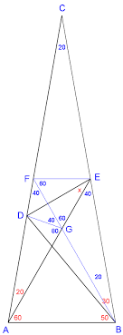 world s hardest easy geometry problem solution two image