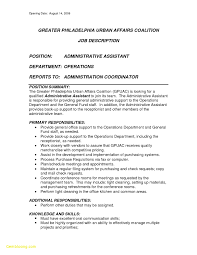 Resume For Admin Assistant Position Download Now Cover Letter