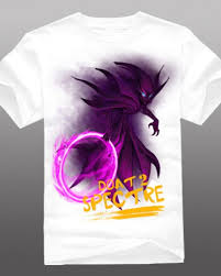 dota 2 hero spectre t shirt for men short sleeve cotton tee