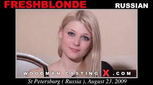 Woodman casting fresh blonde