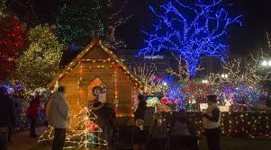 Ogden City Park Christmas Lights Christmas Village Displays Arent Miniature On Joy