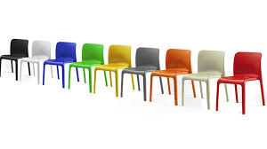 G Funky Hardwearing Modern Bright Coloured Plastic Stackable Chairs On  Colorful Dining Mix Up