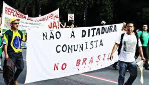 Resultado de imagem para mobilizações da direita brasileira