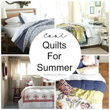 Summer Weight Quilts King Size Faded Summer Quilt Lightweight ... & Cool Quilts For Summer Summer Weight Quilt Tutorial Lightweight Summer  Comforter Sets Summer Weight Bed Quilts Adamdwight.com