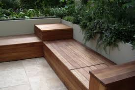 decorative modern outdoor storage bench contemporary  furniture
