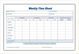 Weekly Timesheet Template With Description 1443