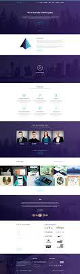 40 best landing page psd templates designmaz tajam one page psd template