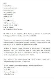 14 conference invitation templates psd ai doc free premium