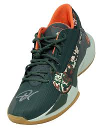 Big discount with fast shipping! Giannis Antetokounmpo Signed Left Green Zoom Freak 2 Shoe Bas Itp Sports Integrity