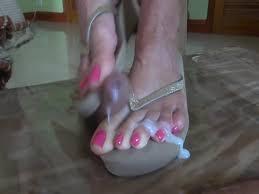 Cum on new wife flip flop