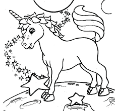 hard unicorn coloring pages kids printable for best free ferrari book boysc full size