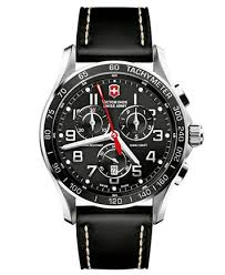 victorinox swiss army men s chronograph infantry vintage brown victorinox swiss army watch men s chronograph classic xls black leather strap 241444