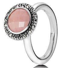 pandora sugar e with pink opal and pyrite ring pandora rings pandora princess ring gold big on