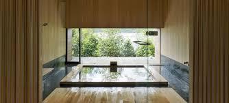 Japanese Bathroom Design Modern Japanese Bathroom Design Waterfall Shower On The Wall Ideas