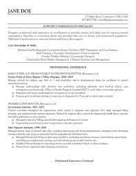 Resume Templates Aviationrations Specialist Example Non Profit