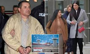 El Chapo is suffering from failing eyesight just months into his life  sentence at supermax prison