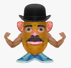 Potato head is an american toy consisting of a plastic model of a potato which can be decorated with a variety of plastic parts that can attach to the main body. Mr Potato Head Transparent Images Realistic Mr Potato Head Free Transparent Clipart Clipartkey