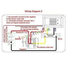 digital voltmeter ammeter circuit diagram digital 100v 100a dc digital voltmeter ammeter led amp volt meter on digital voltmeter ammeter circuit diagram