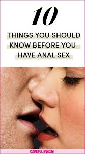 How perform anal sex