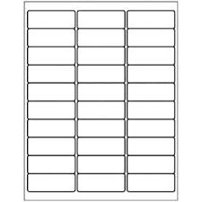Avery Label Sizes Chart Free Avery Templates Address Label 30 Per Sheet Avery