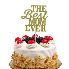 Senarai Harga Cake Flags The Best Mom Ever Cupcake Cake Topper