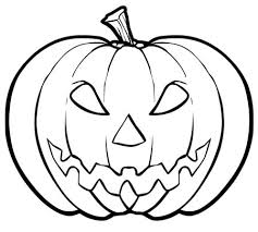 Small Picture Kid Scary Halloween Pumpkin Coloring Pages 00 Pinterest