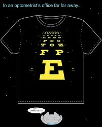 Star Chart The Shirt The Eyes Have It Optometry Humor