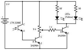 a dark detecting circuit for your jack o lantern evil mad circuit diagram 2
