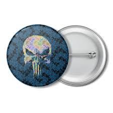 Заказать <b>значок Punisher Skull</b> #2722272 за 130 руб. – <b>значки</b> на ...