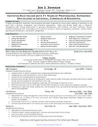 Electrician Cv Electrician Cv Sample Templates At Allbusinesstemplates Com