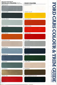 Ford Falcon Colour Chart Does Anyone Know Old Skool Ford Chat Old Skool Ford
