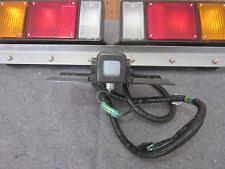isuzu npr tail lights new isuzu npr tail light set w plate light and harness