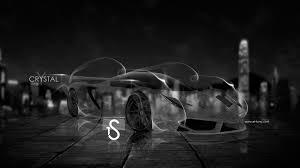 ferrari crystal smoke car