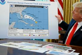 On Hurricane Dorian Trump Gave Reality A Little Touch Up