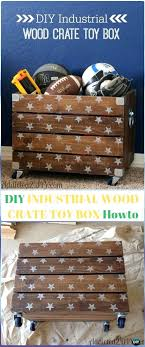 wood crate ottoman diy industrial wood crate toy box instructions wood crate furniture ideas projects wooden crate ottoman diy