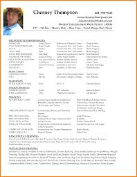 Dance Resume Sample Dance Resume Billigfodboldtrojer 41