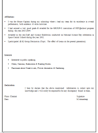 Beautifully Idea Science Resume Examples    Format For Bsc     Scoop it