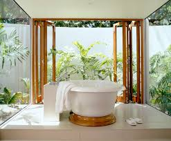 Small Picture Unique 10 Tropical Bathroom Decorating Design Decoration Of