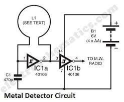 block diagram of metal detector ireleast info simple metal detector circuit wiring block