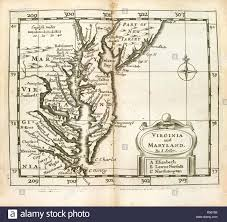Virginia And Maryland Atlas Maritimus A Chart Of The Sea