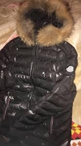 moncler camo fur jacket