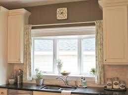 modern kitchen curtains grommets