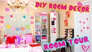 DIY Room Tour!? | Valentine Edition! | DIY Decor Ideas For V-Day ...