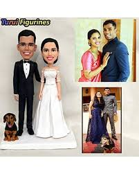 New Deal Alert Turui Figurines Wedding Cake Topper Funny Dog