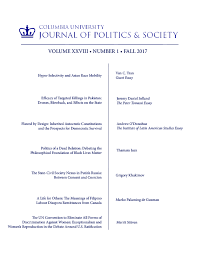 fall columbia university journal of politics society fall 2017