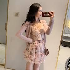 3 piece set womens <b>summer</b> 2019 <b>new camisole</b> + thin cardigan ...