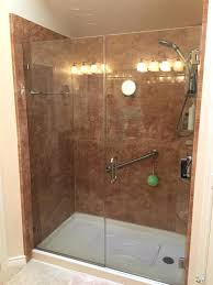 bathtub conversion to walk in shower medium size of walk shower walk in tub and shower