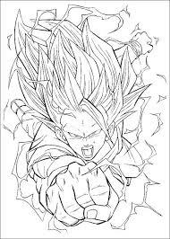 Dragon Ball Z Kleurplaten Gohan