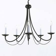 61 most dandy mesmerizing french style chandeliers country pendant lighting black iron with white candle and