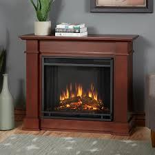 real flame devin petite 36 inch electric fireplace with mantel dark espresso 1220e de gas log guys